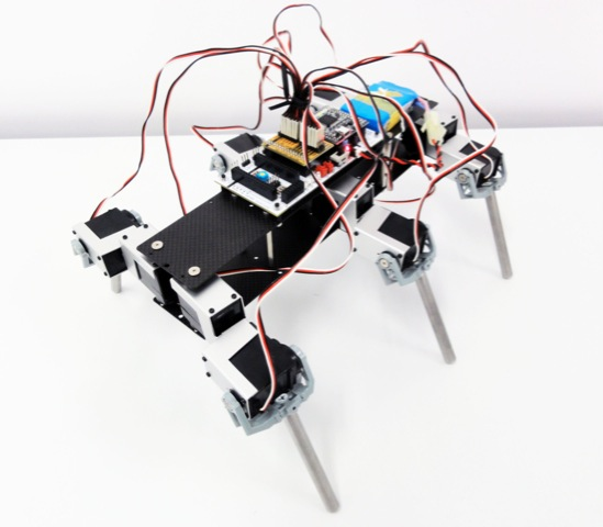 6 legged robot